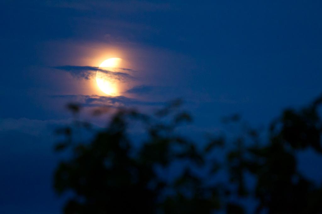 Månförmörkelse juni 2011