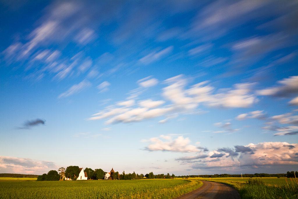 Långtora kyrka utanför Enköping