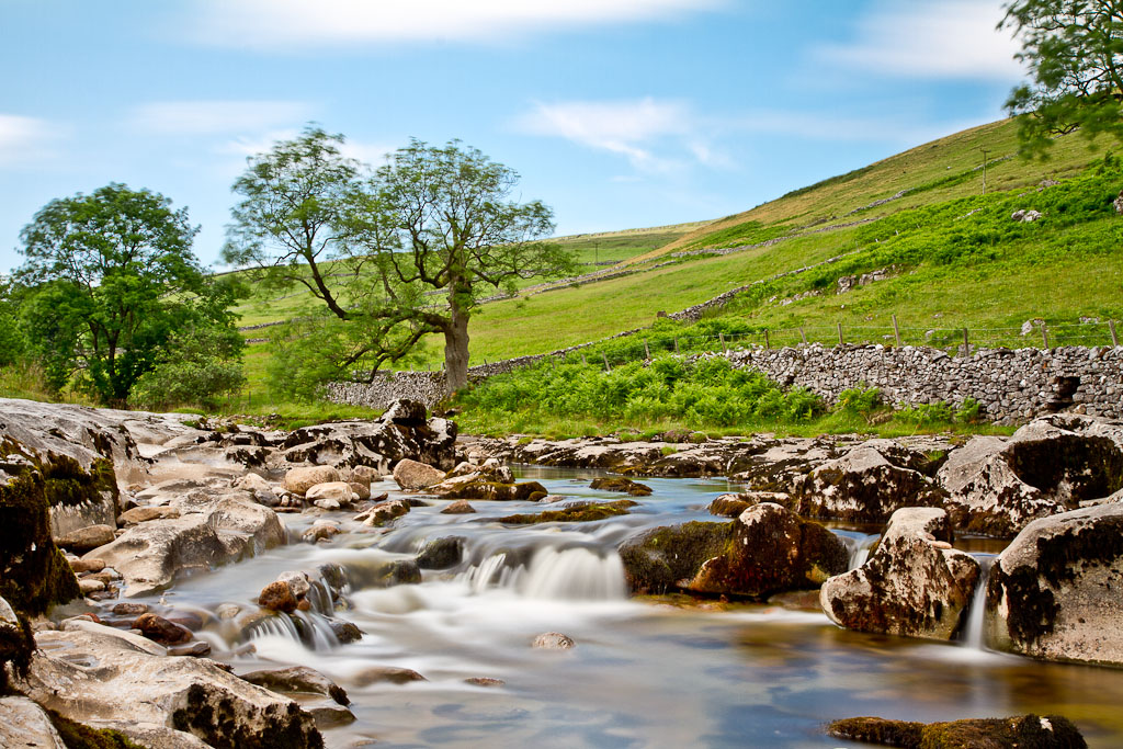 Waterfall, Langstrothdale, North Yorkshire