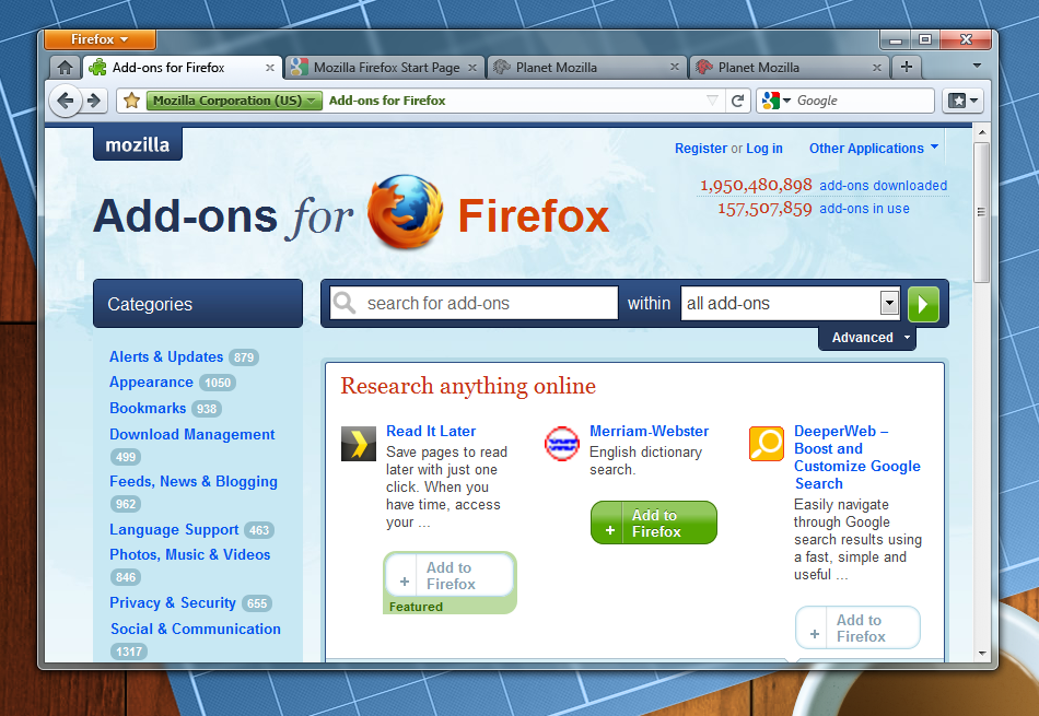 Mockup of Firefox 4 theme
