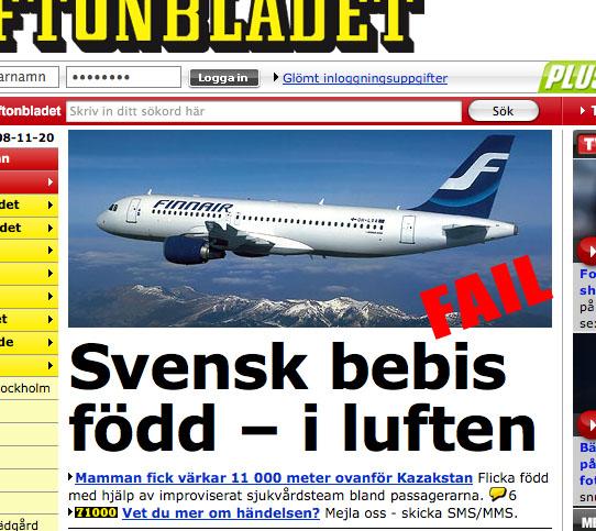 headline fail aftonbladet
