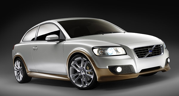 Volvo C30 Concept, front view