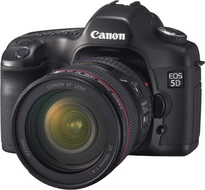 The Canon EOS 5D