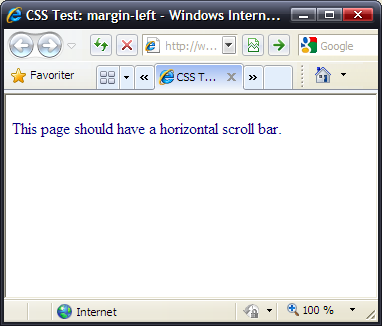 CSS 2.1 test suite test
