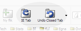 Screenshot Doodle Firefox 2: IETab and Undo Closed Tabs