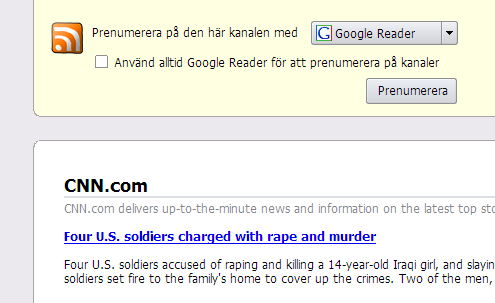 Screenshot Doodle Firefox 2: RSS Pretty Print