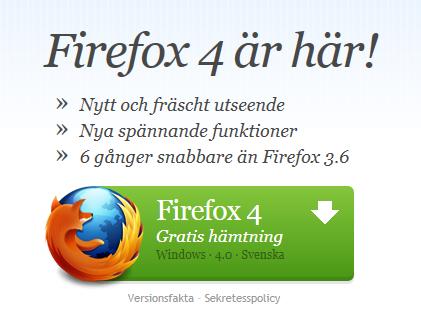 ladda ner Firefox 4