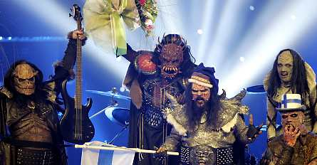 Finnish hard rock band Lordi