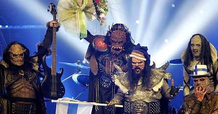Finnish hard rock band Lordi