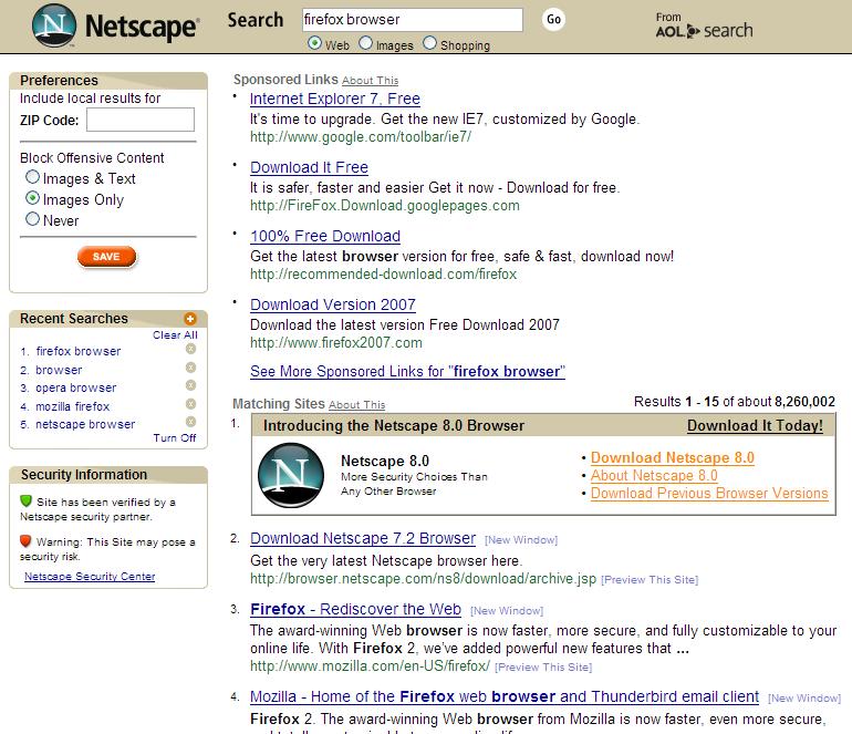 Mozilla Firefox « David Naylor: Blog