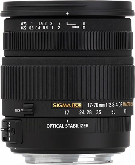 Sigma 17-70mm 1:2.8-4 DC Macro OS HSM