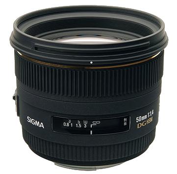 Sigma 50mm 1:1.4 EX DG HSM