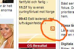 Svenska Dagbladet RSS icon