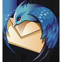 Thunderbird logotype (logo), 200x200 px